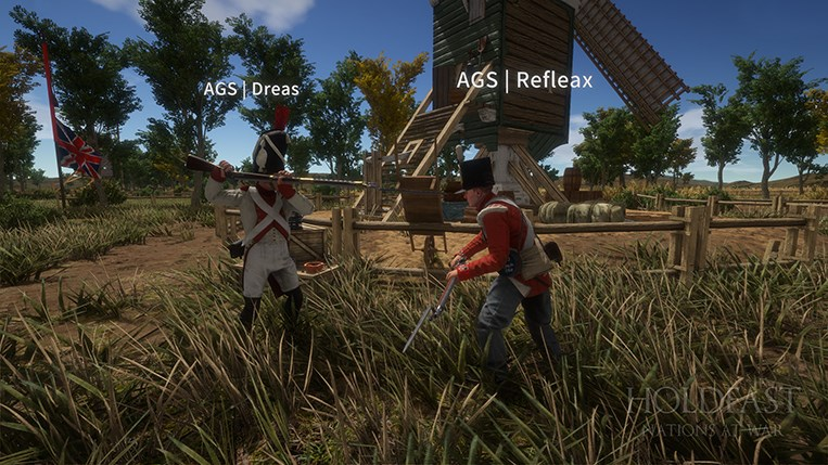 Holdfast NaW - Melee Combat
